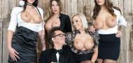 Jolee Love, Lilli Vanilli And Mia Blow - German babes Jolee Love & Lilli Vanilli in Christmas group sex affair Pt.1