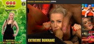 ExtremeBukkake / Bonnie Bee And Susi Star Bonnies Swallowing Premiere