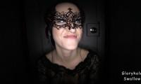 Gloryholeswallow / Christina's 1st Gloryhole Visit