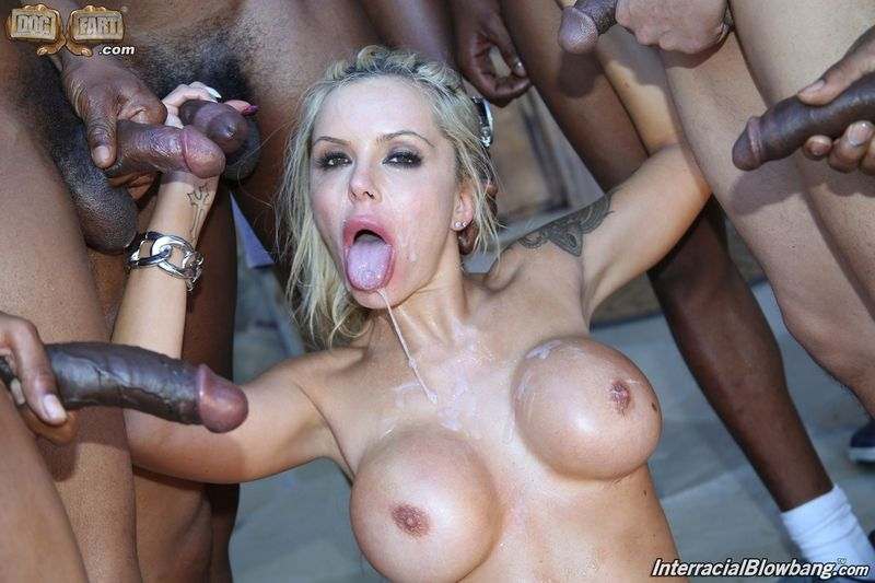 German blonde really deepthroat outdoor 2