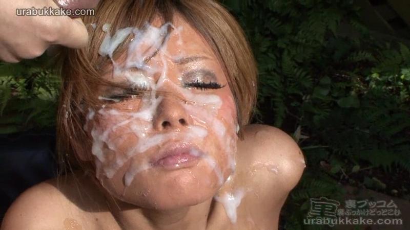 японские лица в сперме compilation